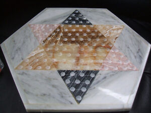 MARBLE/ONYX Chinese Checkers-complete London Ontario image 2