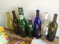 Carboys, Wine bottles, Cappers and EZ Cap bottles for sale
