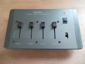 Sound and mic mixers