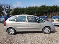 Citroen Xsara Picasso 1.6i 16v 110hp Exclusive, Top Spec, Lots of History & Mot