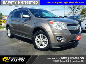 2011 Chevrolet Equinox LT | SAFETY & E-TESTED