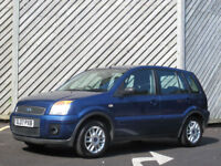 2007 FORD FUSION 1.4 Zetec 5 DOOR HATCH -GREAT VALUE !!