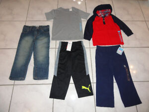 NEW!  BOYS PANTS AND T-SHIRTS, SIZE 3 T