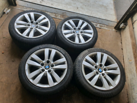 R17 bmw 3 series alloy wheels and tyres