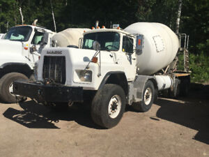 Mack RB mixers-2 avalible