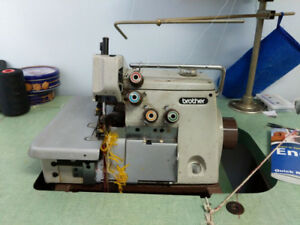 2 Single Needle & 1 Serger Industrial Sewing Machines