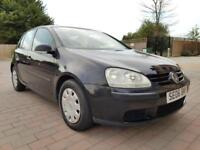 Long MOT* 2006 Volkswagen Golf 1.6 L Manual 5 Doors Black FSI 1.6L Petrol