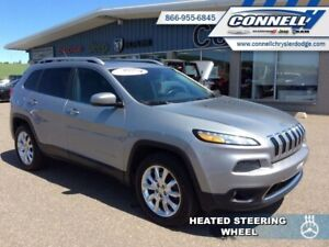 2015 Jeep Cherokee CHEROKEE LIMITED  - Leather Seats - $119 B/W