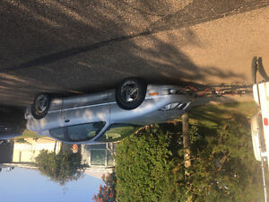 2003 Pontiac Sunfire Coupe (2 door) with Blue Ox Hitch