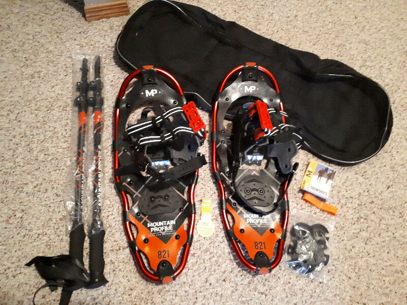 New Yukon Charlie's Mountain Profile Snowshoe Kit for sale