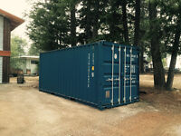 Shipping Container 20' x 8' x 8'