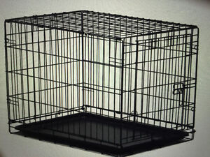 24'' Exercise Pen and 19'' Crate for Dog