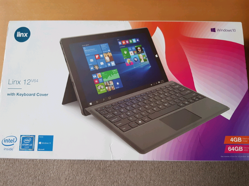 Linx 12v64 windows 10 tablet and keyboard | in Stretford, Manchester |  Gumtree