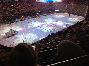 Toronto Maple Leafs April 4 Capitals Section 312 Row 4