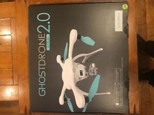 EHang ghostdrone arial 2.0 avec caméra 4K  gimbal, et batterie.