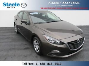 2016 MAZDA MAZDA3 GX (INCLUDES A NO CHARGE WARRANTY)