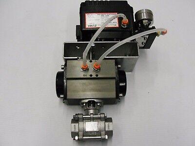 Triad Pneumatic Positioner Ppr-1200 W 3-15 Psi Duravalve Assemblies
