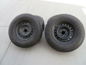 235 70R 16 Champiro Ice Pro SUV Studded Tires with Rims