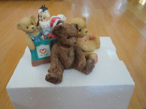 Collectible Limited Edition Cherished Teddies statue figurine
