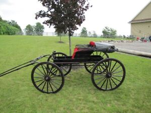 Houghton Horse Show Wagon with Harness