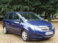 Vauxhall Zafira 1.6i 16v 2009 Life ** 7 SEATER**GENUINE 79,968 MILES FROM NEW**