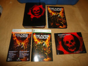 GEARS OF WAR XBOX 360 COLLECTORS EDITION