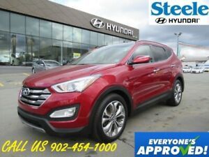 2014 Hyundai Santa Fe SE 2.0T Turbo leather seats sunroof loaded