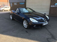 2004 54 MERCEDES-BENZ SLK350 3.5 AUTOMATIC PADDLE SHIFT,ONLY 58000 MILES WITH
