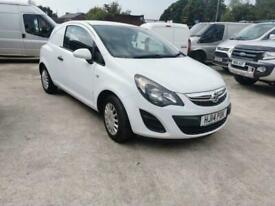 2014 Vauxhall Corsa 1.2 CDTI ECOFLEX 74 BHP CAR DERIVED VAN Diesel Manual
