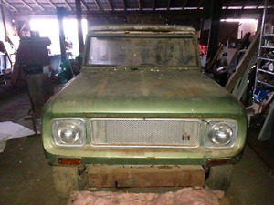 1970 International Harvester Scout 800A