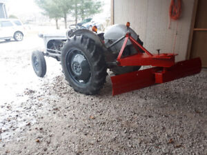 **good running Ford 8N farm tractor + 6ft blade $2400 obo**