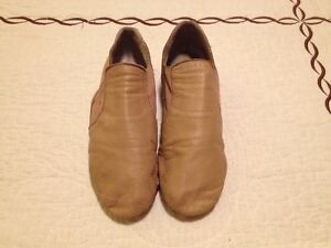 JAZZ DANCE SHOES - SIZE 8 1/2 by DANCE NOW