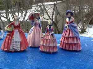 Vintage Royal Doulton Figurines made in England