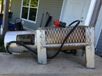 Propane heater and tank