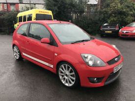 2007 FORD FIESTA ST 2.0 PETROL RED 3 DOOR HATCH 12 MONTHS MOT LOW MILES