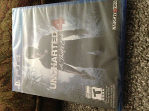 Uncharted 4 brand new!