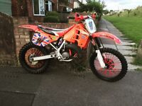 Honda CR 125 1990 mx enduro not RM KX YZ EXC