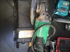 Hitachi 9inch grinder