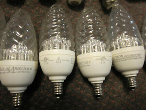 Luminus LED Chandelier Bulbs with optional Medium Bases Kitchener / Waterloo Kitchener Area image 2