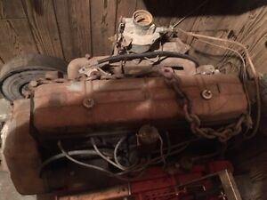 216 Chevrolet engine and transmission