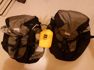 MEC Bicycle Pannier Bags - brand new never used