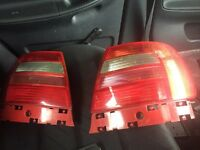 Audi A4 rear lights