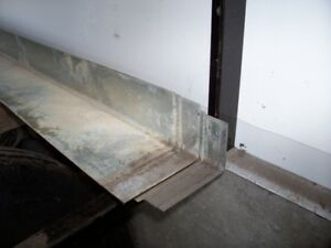 "steel -2 1/2 x 4"" galvanized 16ga. angle"