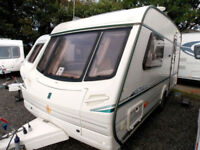 Abbey GTS Vogue 215 2001 Lightweight 2 Berth Touring Caravan With MotorMover
