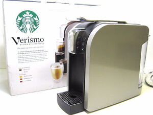 Verismo K-Fee Cup System by Starbucks Home Café Coffee - Silver