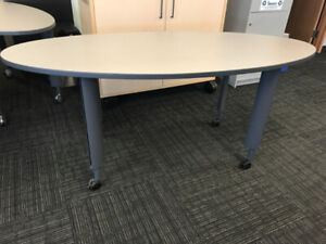 Desks - Adjustable height - on casters $50 each