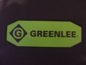 Greenlee Cable Cutters with Case and Attachments