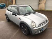 56 reg BMW Mini One 1.6 Silver Metallic