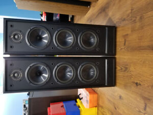 Infinity Tower speakers