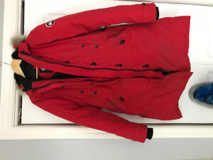 Ladies Red Canada Goose. Jacket